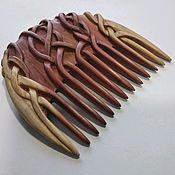 """Гребни ручной работы. Ярмарка Мастеров - ручная работа Гребень - расчёска """"Коса красна"""" (можжевельник). Handmade."""