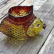"""Для дома и интерьера ручной работы. Ярмарка Мастеров - ручная работа Ваза """"Смешная рыба"""". Handmade."""