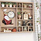 Для дома и интерьера handmade. Livemaster - original item Kitchen Shelf Brown Cook. Handmade.