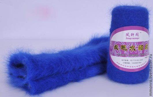 Вязание ручной работы. Ярмарка Мастеров - ручная работа. Купить Пряжа норка 100% (длиношерстная)3. Handmade. Однотонный, крючок