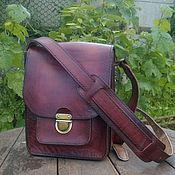 Мужская сумка ручной работы. Ярмарка Мастеров - ручная работа Мужская кожаная сумка. Handmade.