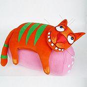 Куклы и игрушки handmade. Livemaster - original item Sausage dream №1. Soft toy red cat on Vasya Lozhkina. Handmade.