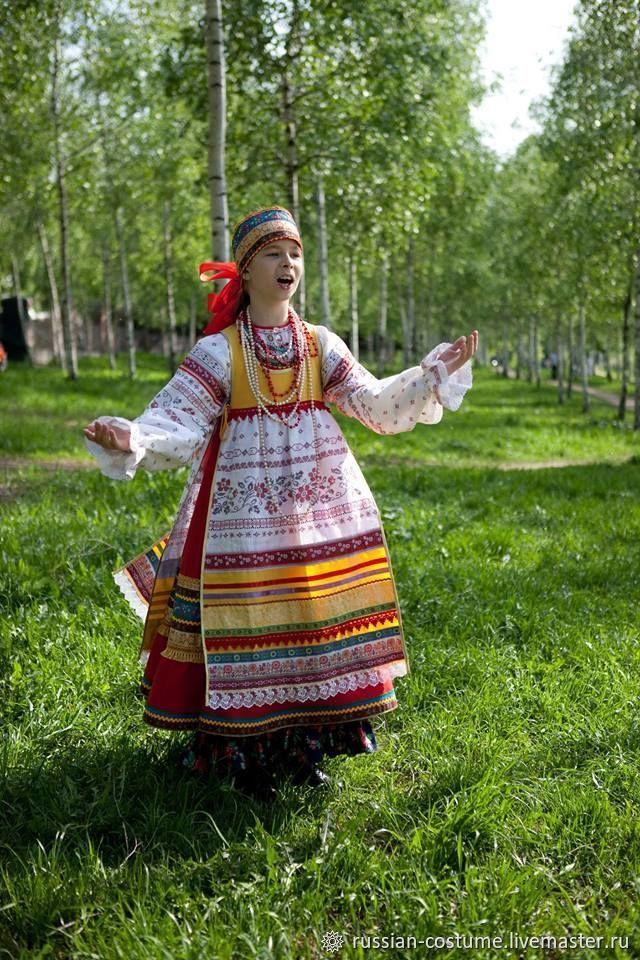 Народный сценический костюм-образ по южным образцам, Народные костюмы, Москва,  Фото №1