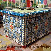 Столы ручной работы. Ярмарка Мастеров - ручная работа Роспись мебели. Восточный сундук. Handmade.