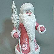 Мягкие игрушки ручной работы. Ярмарка Мастеров - ручная работа Дед Мороз 22,5 см. Handmade.