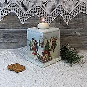 Для дома и интерьера handmade. Livemaster - original item the candlestick-box
