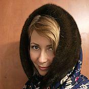 Аксессуары handmade. Livemaster - original item Snood with mink fur. Handmade.