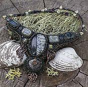 """Украшения ручной работы. Ярмарка Мастеров - ручная работа колье """"Старое море"""" (выдох). Handmade."""