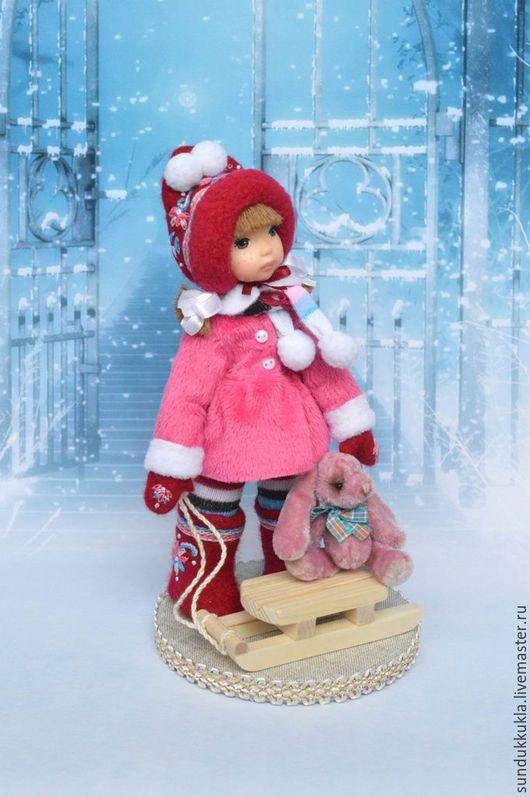 Коллекционные куклы ручной работы. Ярмарка Мастеров - ручная работа. Купить Кукла из полимерной глины Леночка. Handmade. Авторская кукла
