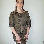 """Одежда ручной работы. Ярмарка Мастеров - ручная работа Валяное платье """"Пробуждение"""". Handmade."""