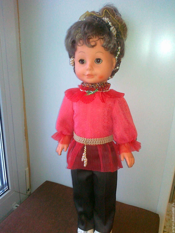 Кукла авторская одежда мастер класс своими руками #12