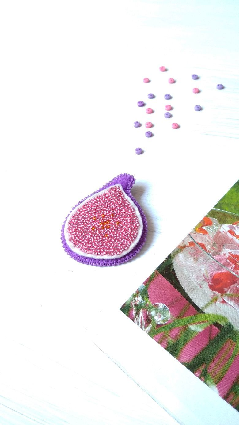 Brooch 'Sweet figs', Brooches, Cherkessk,  Фото №1