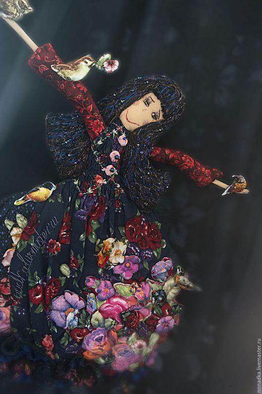 Коллекционные куклы ручной работы. Ярмарка Мастеров - ручная работа. Купить Заутренняя текстильная кукла ручная работа. Handmade.