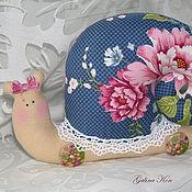 """Куклы и игрушки ручной работы. Ярмарка Мастеров - ручная работа Улитка """"Розали"""". Handmade."""