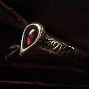 Украшения handmade. Livemaster - original item Garnet Ring