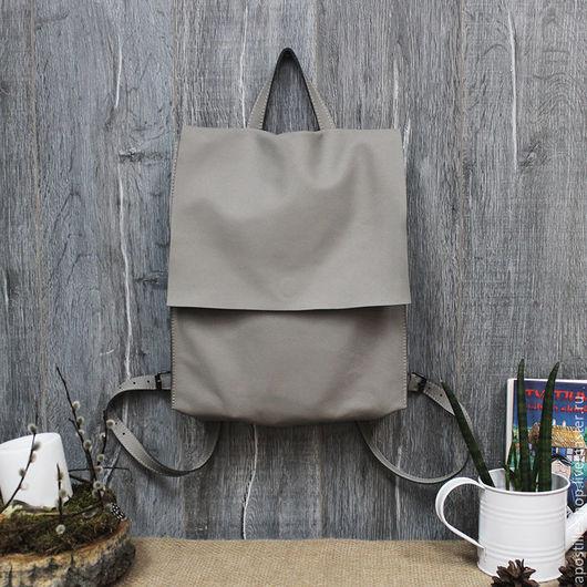 Рюкзаки ручной работы. Ярмарка Мастеров - ручная работа. Купить Рюкзак GoTravel Lady Mouse 3.0. Handmade. Серый