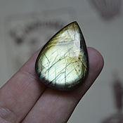 Материалы для творчества handmade. Livemaster - original item Labradorite. Cabochon 34 X 25 X 7. Handmade.