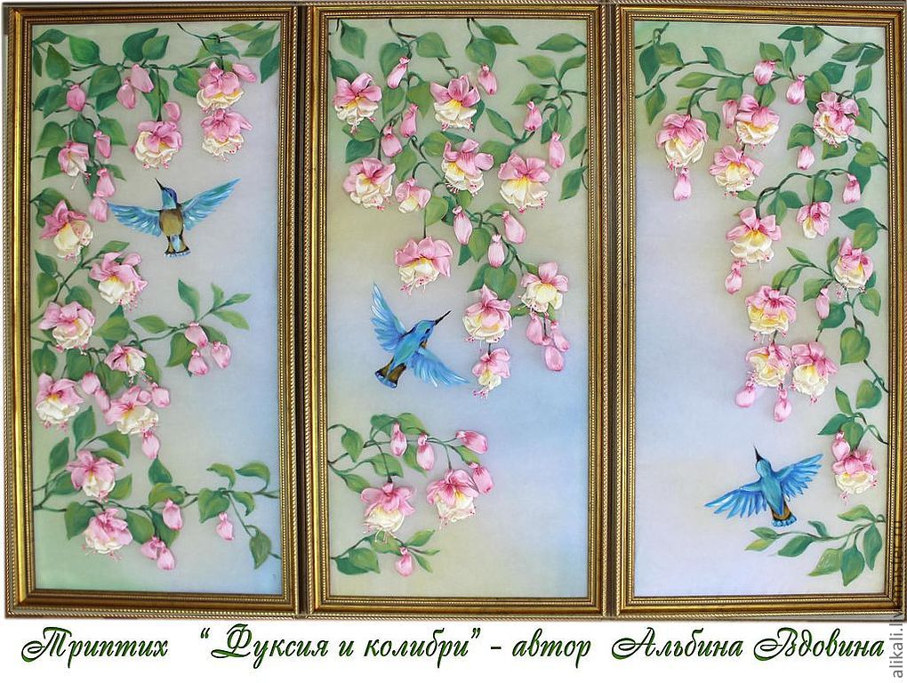 Триптих картины своими руками