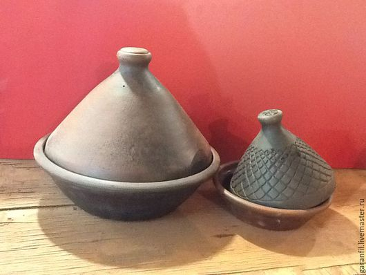 Кухня ручной работы. Ярмарка Мастеров - ручная работа. Купить тажин марокканский. Handmade. Посуда ручной работы, тажин марокканский