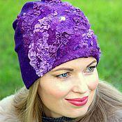 Аксессуары handmade. Livemaster - original item Hat women`s felt.... Handmade.