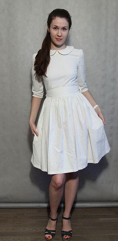 Платья ручной работы. Ярмарка Мастеров - ручная работа. Купить платье № 16. Handmade. Ретро, хлопок