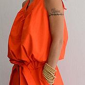 Одежда ручной работы. Ярмарка Мастеров - ручная работа Платье сарафан Women Love (Orange). Handmade.