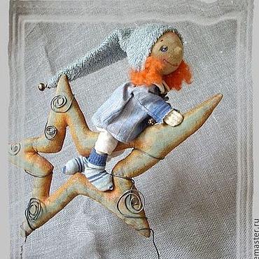 Куклы и игрушки ручной работы. Ярмарка Мастеров - ручная работа Верхом на звезде.... Handmade.