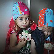 """Аксессуары handmade. Livemaster - original item Шапка детская """"Жираф"""". Handmade."""