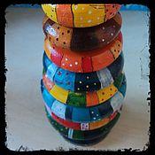 """Куклы и игрушки ручной работы. Ярмарка Мастеров - ручная работа Пирамидка детская """"Чудесная"""". Handmade."""