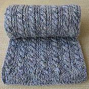 Аксессуары ручной работы. Ярмарка Мастеров - ручная работа Шарф, просто очень тёплый  шарф ручной вязки .. Handmade.