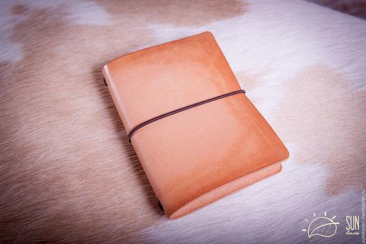 Записные книжки ручной работы. Ярмарка Мастеров - ручная работа. Купить Записная книжка путешественника.  В стиле Midori Traveler's journal. Handmade.