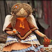 Куклы и игрушки ручной работы. Ярмарка Мастеров - ручная работа Девочка Есения - Фея перелетных птиц.  Коллекционная кукла. Handmade.