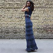Одежда ручной работы. Ярмарка Мастеров - ручная работа Платье вязаное макси. Handmade.