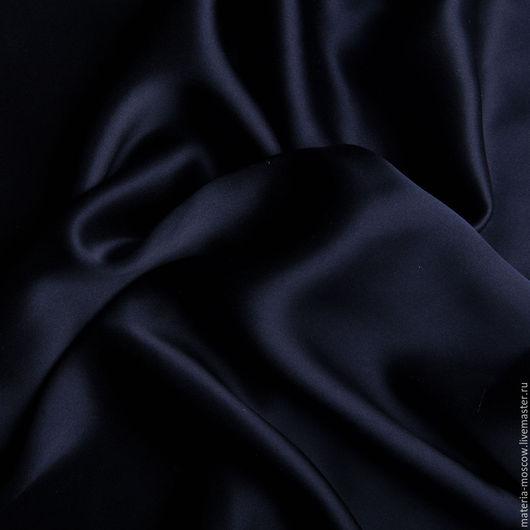 Шитье ручной работы. Ярмарка Мастеров - ручная работа. Купить Шелк (синий,кобальт). Handmade. Тёмно-синий, цвет кобальт
