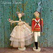 Куклы и игрушки ручной работы. Ярмарка Мастеров - ручная работа Стойкий оловянный солдатик. Handmade.