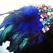 Украшения ручной работы. Ярмарка Мастеров - ручная работа эполет Синяя птица. Handmade.
