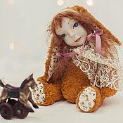 Куклы и игрушки ручной работы. Ярмарка Мастеров - ручная работа Тедди-долл Элли. Handmade.