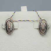 Украшения handmade. Livemaster - original item Gold diamond earrings 0,414 ct. Handmade.