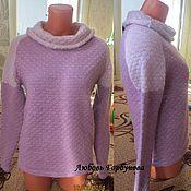 Одежда ручной работы. Ярмарка Мастеров - ручная работа свитер из ангорки. Handmade.