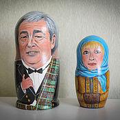 Подарки к праздникам ручной работы. Ярмарка Мастеров - ручная работа Портретная матрешка 2-местная. Handmade.