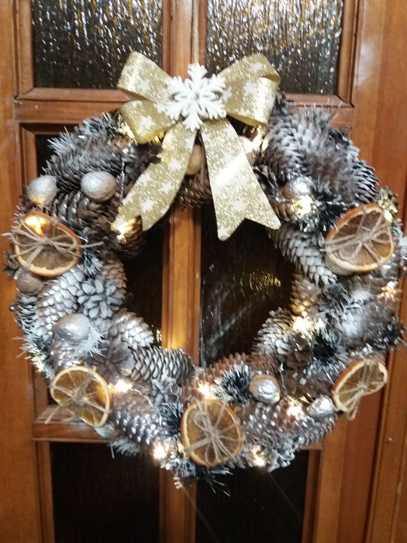 Рождественские веночки, Новогодние композиции, Курск,  Фото №1