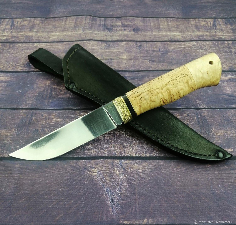 Нож ручной работы Лань, кованая сталь 95х18, Ножи, Москва,  Фото №1