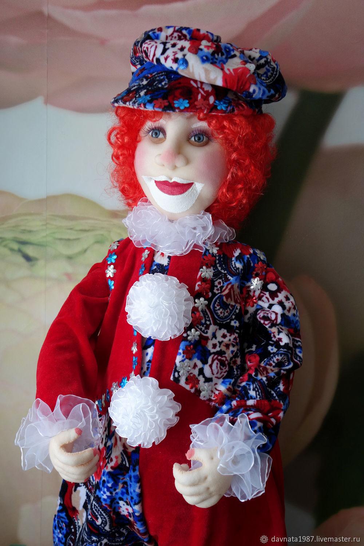 Copy of Copy of Doll interior clown (57cm.), Dolls, Zaraysk,  Фото №1