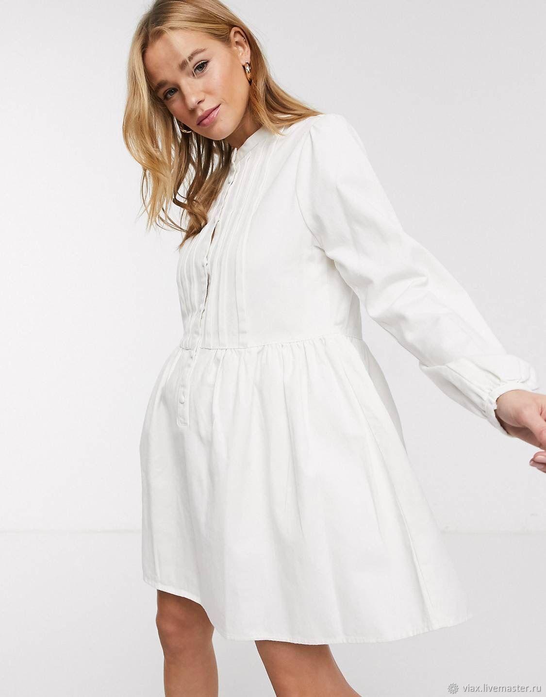 a dress of white denim 'Blanco», Dresses, Rostov-on-Don,  Фото №1