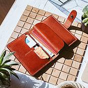 Сумки и аксессуары handmade. Livemaster - original item Wallet leather - documentary ARLES. Handmade.