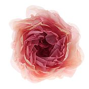 """Цветы и флористика ручной работы. Ярмарка Мастеров - ручная работа Цветы из ткани. Роза """"Англия"""". Handmade."""