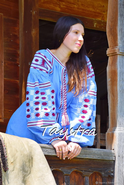 Embroidered Dress boho style, Bohemian, Vyshyvanka Dress, Dresses, Chernovtsy,  Фото №1