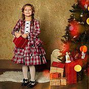 """Работы для детей, ручной работы. Ярмарка Мастеров - ручная работа платье детское """"Брусника"""". Handmade."""