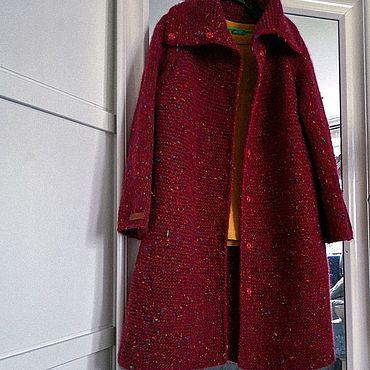 Одежда ручной работы. Ярмарка Мастеров - ручная работа Пальто Red. Handmade.