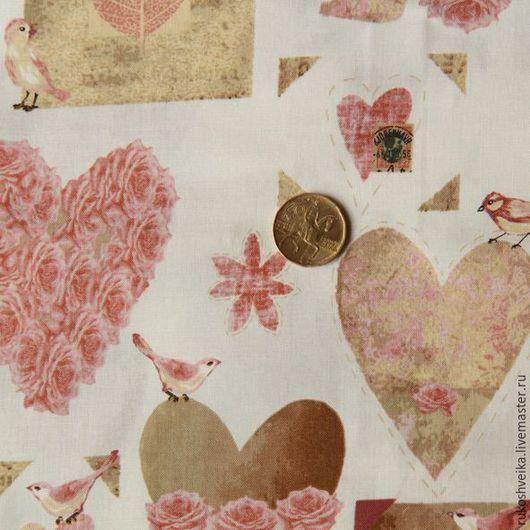 Шитье ручной работы. Ярмарка Мастеров - ручная работа. Купить Ткань для пэчворка и шитья Дания. Handmade. Комбинированный, ткань для творчества